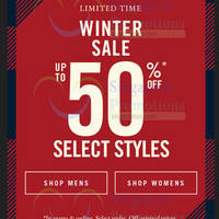 Read more about Abercrombie & Fitch Winter Sale From 16 Dec 2015