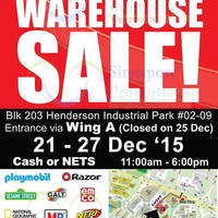 Read more about Action Toyz Branded Toys Warehouse Sale 21 - 27 Dec 2015