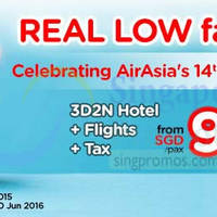 Read more about Air Asia Go fr $95/pax (3D2N Hotel Stay, Return Flights & Taxes) 14 - 20 Dec 2015