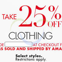 Read more about Amazon.com 25% OFF Fashion, Accessories & More (NO Min Spend) Coupon Code 10 - 23 Dec 2015