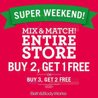 Read more about Bath & Body Works Buy 2 Get 1 Free Storewide 1-Day Promo 20 Dec 2015