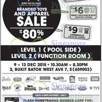 Read more about Bes Retail Branded Toys & Apparel Sale 9 - 13 Dec 2015
