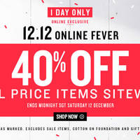 Read more about Cotton On Women, Kids, Typo & More 40% OFF Storewide 24hr Promo 12 Dec 2015