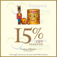 Read more about Crabtree & Evelyn 15% Off Storewide Promotion 10 - 11 Dec 2015