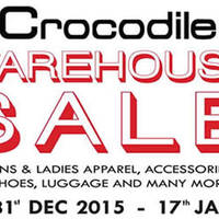 Read more about Crocodile Warehouse Sale 31 Dec 2015 - 17 Jan 2016