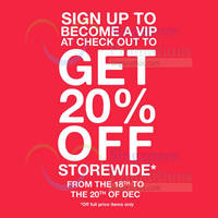 Read more about Crumpler Singapore 20% Off Storewide 18 - 31 Dec 2015