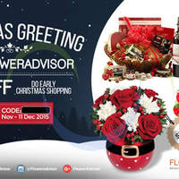 FlowerAdvisor 10% OFF Storewide Coupon Code 1 - 11 Dec 2015