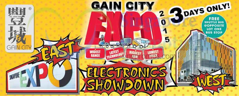 Gain City Expo 4 Dec 2015