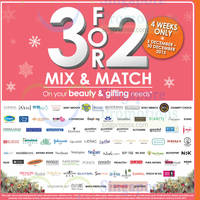 Read more about Guardian Buy 2 Get 1 Free Selected Beauty & Gifting 3 - 30 Dec 2015
