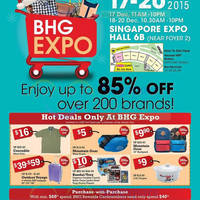 Read more about BHG Expo @ Singapore Expo 17 - 20 Dec 2015