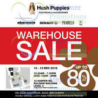 Read more about Hush Puppies Warehouse Sale 10 - 13 Dec 2015