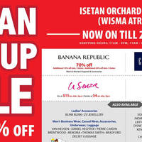 Read more about Isetan Pop-up Sale @ Wisma Atria 3 - 20 Dec 2015