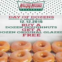 Read more about Krispy Kreme Buy 12 & Get 12 Free 1-Day Promo @ Tangs Orchard 12 Dec 2015