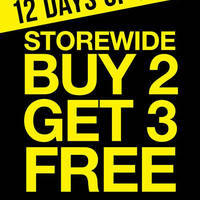 Read more about La Senza Buy 2 Get 3 FREE Storewide 1-Day Promotion 19 Dec 2015