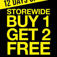 Read more about La Senza Buy 1 Get 2 FREE Storewide 1-Day Promotion 24 Dec 2015