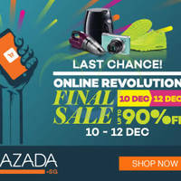 Read more about Lazada 12% Off Storewide (NO Min Spend) For DBS/POSB Cardmembers 72hr Promo 10 - 12 Dec 2015