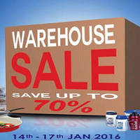 Read more about Lock & Lock Warehouse Sale 14 - 17 Jan 2016