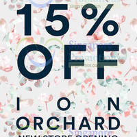 Read more about MDS 15% Off Storewide Promotion @ ION Orchard 15 Dec 2015