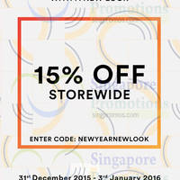 Read more about MDS Collections 15% Off Storewide Promo 31 Dec 2015 - 3 Jan 2016