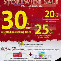Read more about MPH Bookstores 20% to 25% Off Books Storewide Sale 25 - 28 Dec 2015