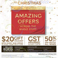Read more about Marks & Spencer Countdown to Christmas Promotions From 4 Dec 2015