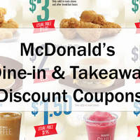 Read more about McDonald's New Discount Coupons 11 - 20 Dec 2015