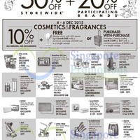 Read more about Metro 10% Off Cosmetics & Fragrances (No Exclusions) 4 - 6 Dec 2015