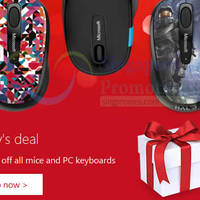 Read more about Microsoft Store SG 50% Off ALL Mouse & Keyboards 48hr Promo 7 - 8 Dec 2015