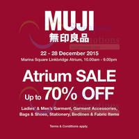 Read more about Muji Atrium Event @ Marina Square Linkbridge Atrium 22 - 28 Dec 2015
