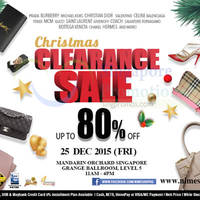 Read more about Nimeshop Branded Handbags Sale @ Mandarin Orchard 25 Dec 2015