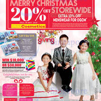 Read more about OG 20% OFF Storewide Promo 24 - 30 Dec 2015