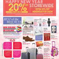 Read more about OG 20% OFF Storewide Promo 31 Dec 2015 - 3 Jan 2016