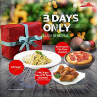 Pizza Hut Dine-In Coupons 1 - 3 Dec 2015