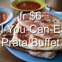 Read more about Prata Corner fr $6 All-You-Can-Eat Prata Buffet 6 - 31 Jan 2016