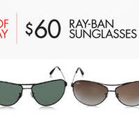 Read more about Ray-Ban Sunglasses $60 24hr Offers 16 - 17 Dec 2015