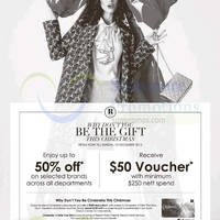 Read more about Robinsons Spend $250 & Get Free $50 Voucher 11 - 13 Dec 2015