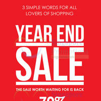 Read more about Robinsons Year End Sale From 15 Dec 2015