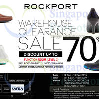 Read more about Rockport Warehouse Sale 12 - 13 Dec 2015