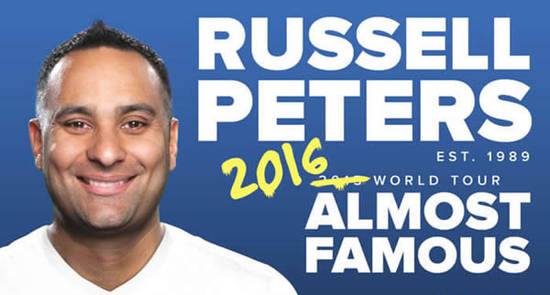 Russell Peters Feat 10 Dec 2015