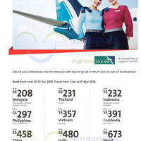Read more about Silkair Exclusive Airfares for OCBC Credit Cardmembers 2 - 14 Dec 2015
