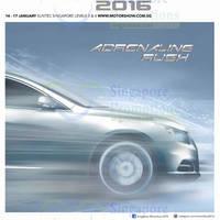 Read more about Singapore Motorshow @ Suntec 14 - 17 Jan 2016