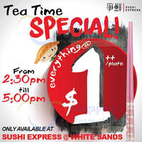 Read more about Sushi Express Everything at $1++/plate @ White Sands 14 - 30 Dec 2015