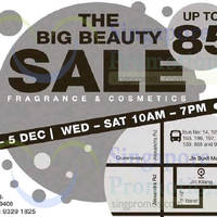 Read more about The Big Beauty Fragrances & Cosmetics Sale 2 - 5 Dec 2015