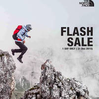 Read more about The North Face 30% Off Storewide 1-Day Flash Sale 31 Dec 2015