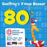 "Read more about Toys ""R"" Us Geoffrey's Xmas Bazaar @ Anchorvale Community Club 18 - 20 Dec 2015"