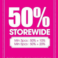 Read more about Accessorize 50% Off Storewide Promo From 15 Jan 2016