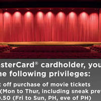 Read more about Cathay Cineplexes Discounted Tickets Promotion for Mastercard Cardmembers 5 Jan - 30 Jun 2016