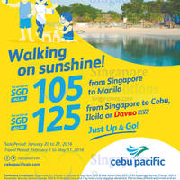 Read more about Cebu Pacific fr $105 Promo Fares 20 - 21 Jan 2016