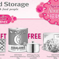 Read more about Cold Storage Buy New Moon Abalone & Get Free WMF Casserole 8 - 10 Jan 2016