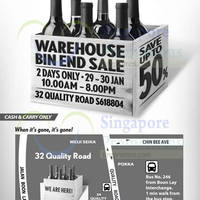 Read more about Cold Storage Wines Warehouse Bin End Sale 29 - 30 Jan 2016